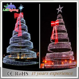 led spiral outdoor christmas trees china outdoor 8m commercial led spiral tree light china outdoor