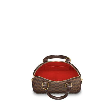 Tas Louis Vuitton Alma Bb Damier Ebene Summer 2016 M91606 alma bb lg damier ebene handbags