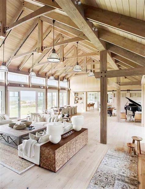 barn living beach barn house style home tour barn