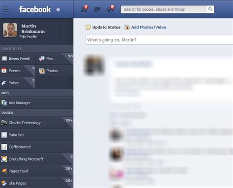 facebook themes download 2013 give facebook a full makeover with newgenbook ghacks