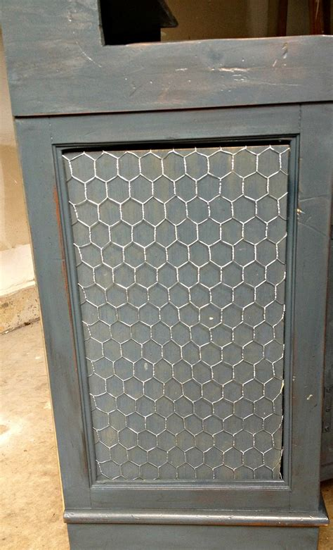 Chicken Wire Cabinet Doors Guest Post East Coast Creative Rocks An Stereo Cabinet Makely