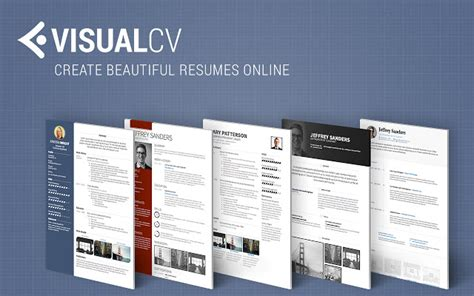 Free Resume Online Builder by Visual Cv Online Resume Builder Chrome Web Store