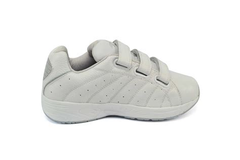 comfort shoes for walking answer2 558 3 white mens walking comfort shoe orthotic shop