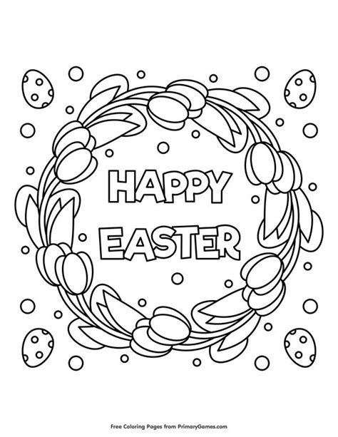 happy easter coloring pages best 25 easter colouring ideas on free easter
