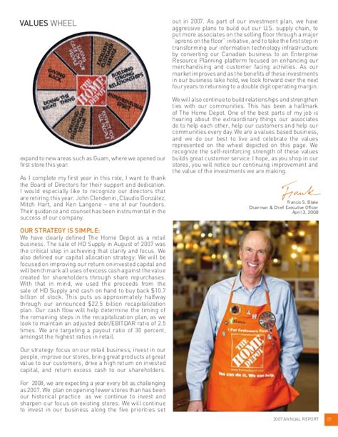 home depot 2007 annual report