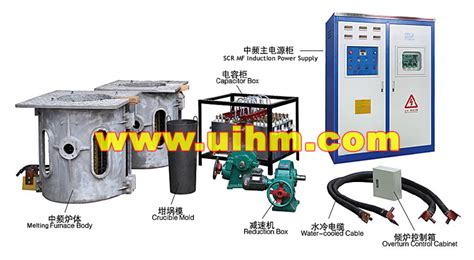 induction heating using scr kgps induction furnace um 800kw scr mf united induction heating machine limited of china