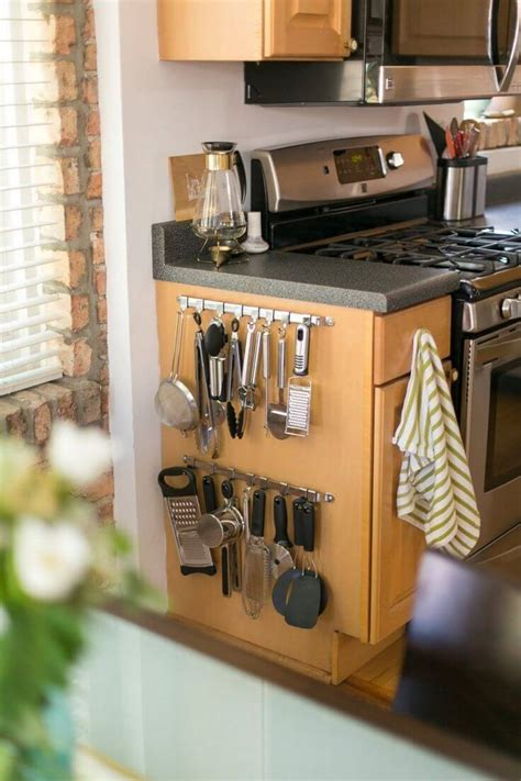 small kitchen organizing ideas 35 best small kitchen storage organization ideas and designs for 2017
