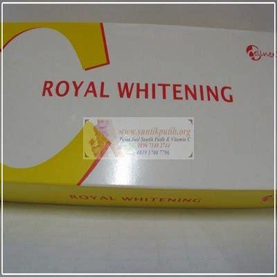 Infus Pemutih Kulit c royal whitening infus pemutih kulit infus whitening