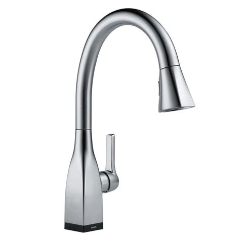 delta touch2o kitchen faucet delta mateo single handle pull sprayer kitchen faucet