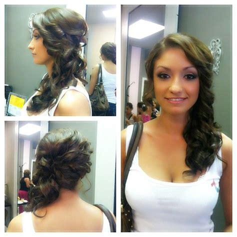 matrons of honor hair up do s bridesmaid and bridesmaid hair