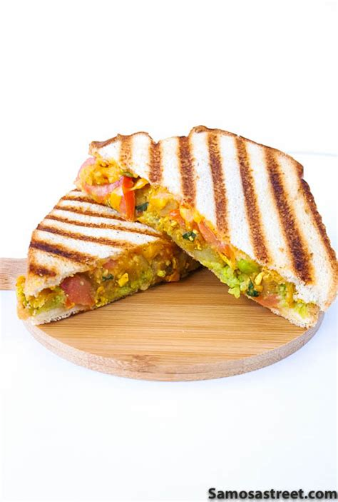 Cottage Cheese Sandwich Fillings by Samosa Dallas Based Food Where Its To