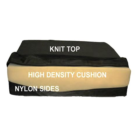 high density foam seat cushion for mobility scooters and