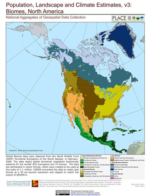 america map of biomes meso america biomes map wwf ref geo world