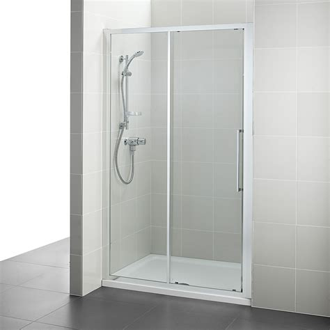 Shower Doors 1200mm Ideal Standard Kubo 1200mm Slider Shower Door