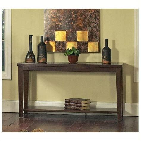 Slate Sofa Table by Steve Silver Company Davenport Slate Sofa Table