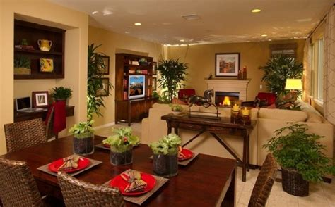 Dining Room And Living Room Combo by Cool Kitchen Dining And Living Room Combo For Small Space
