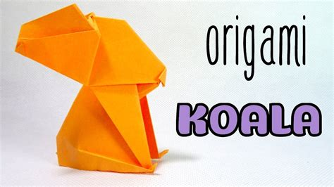 how to make an origami koala origami easy origami koala ot origami koala