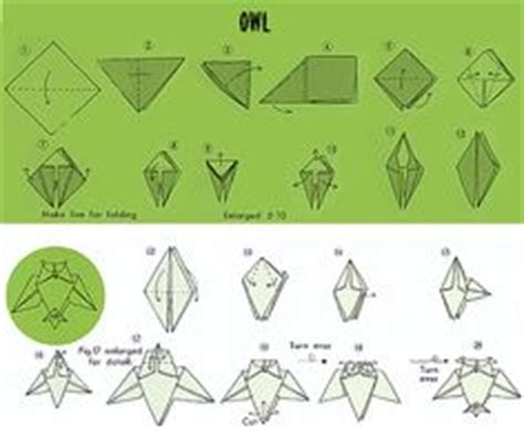 Diy Origami Owl - 1000 images about origami animals how to guide on