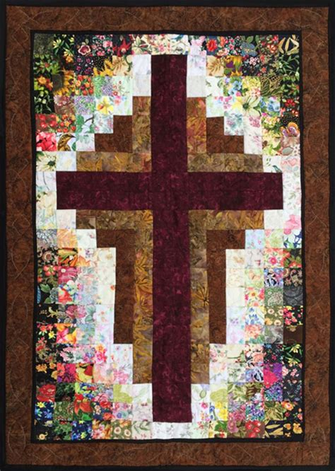 Watercolor Cross Pattern | pin by quiltwoman com on kits pinterest watercolor