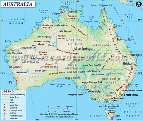 map of australia with capital cities enlarged map of australia showing the airports roads
