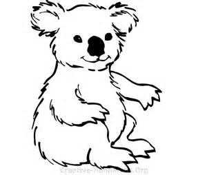 koala stencil cliparts co