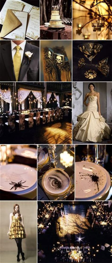 black and gold colour theme wedding planning discussion forums
