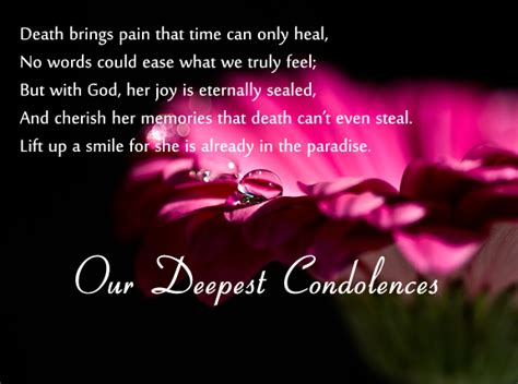 condolence messages 365greetings com