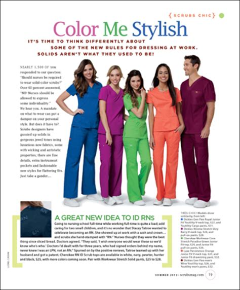 scrub color code scrubs chic color me stylish scrubs the leading