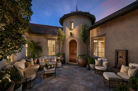 camelot reserve mediterranean patio by