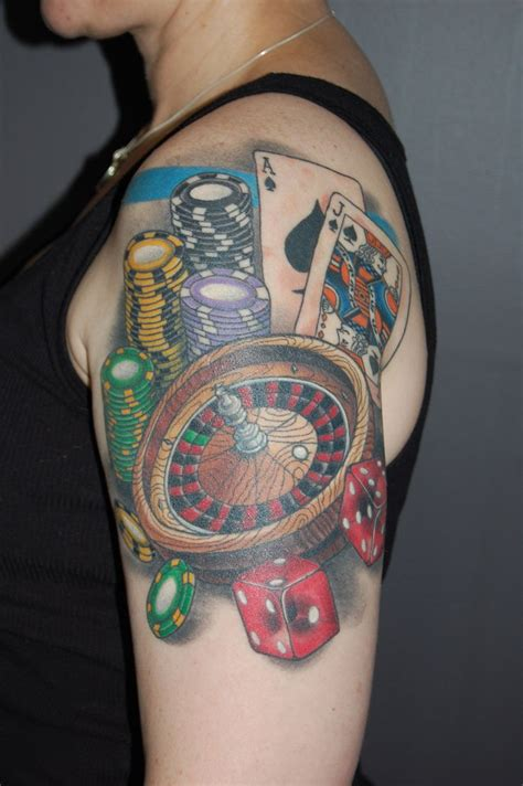 casino tattoo designs 16 best images about themed tattoos on