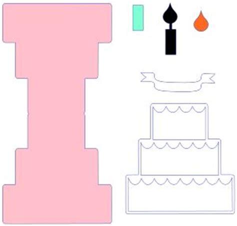 birthday cake card template tutorial thursday pop up birthday card birthday cakes