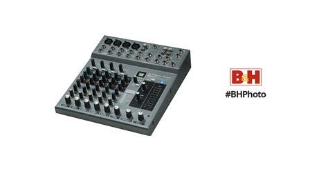 Audio Mixer American Standard american audio mx822fx 5 channel audio mixer m822fx b h photo