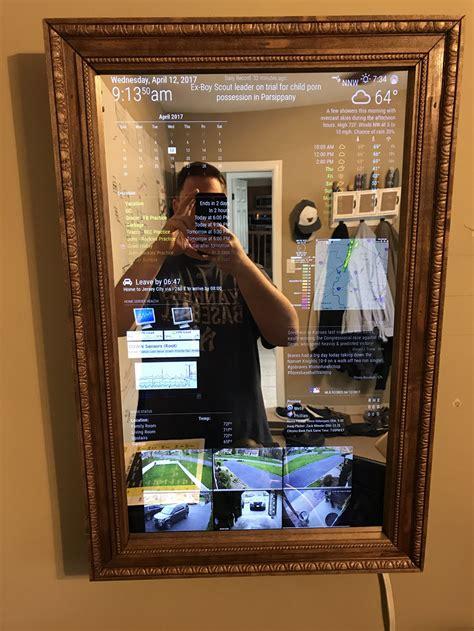 magic mirror 27 quot custom framed magic mirror fun to get done