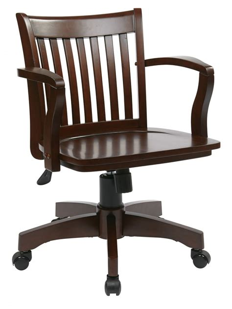 wooden swivel desk chair dining chairs