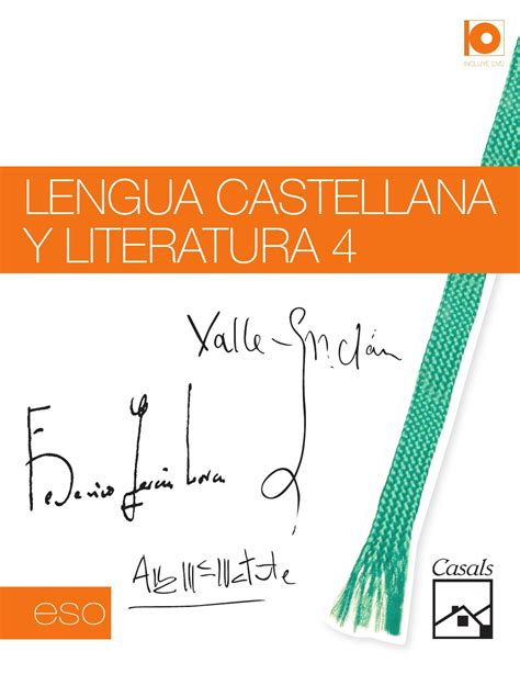 lengua castellana y literatura 8490470170 lengua castellana y literatura 4 unidad de muestra lengua eso by editorial casals issuu