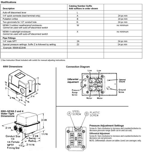 100 hubbell pressure switch wiring diagram aux