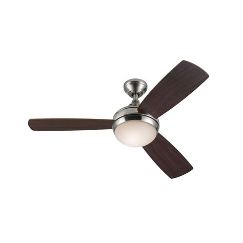 ceiling fans harbor 44 in harbor sauble brushed nickel ceiling fan lowe s canada