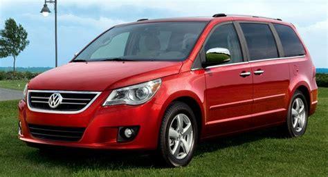 volkswagen usa recalling almost 16 000 routan minivans for