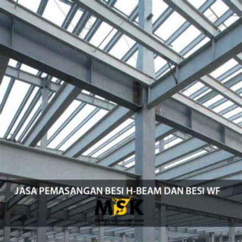 Jasa Pemasangan Engsel Dan Lockcase jasa pemasangan besi h beam dan besi wf supplier material konstruksi