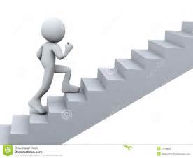 treppen laufen 3d person running on stair stock photo image 27138530