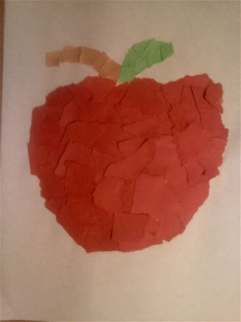 Paper Apple Crafts - apple crafts for preschoolers crafts for preschool