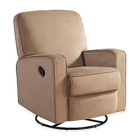glider or recliner for nursery abbyson living 174 ashlyn nursery swivel glider recliner