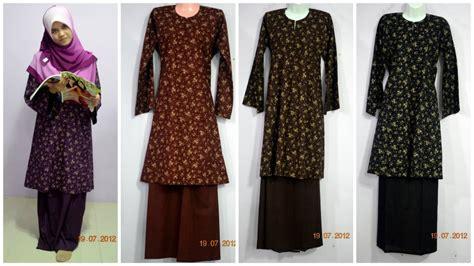 design jubah batik terkini maxi dress jubah blouse fesyen muslimah anggun