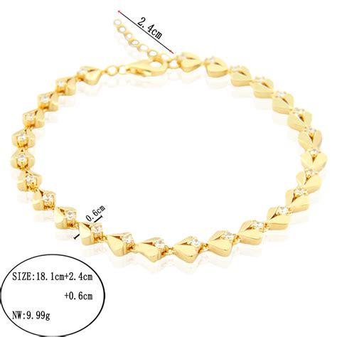 Gelang Infinite 925 matahari perak emas disepuh gelang tenis dubai