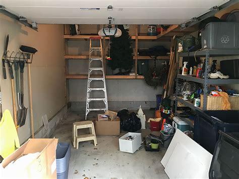 cer makeover garage makeover ideas garage living