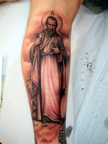 saint jude tattoo jude by d i will be getting a version of