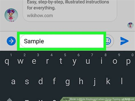 android hide keyboard how to hide keyboard when done typing on android 4 steps