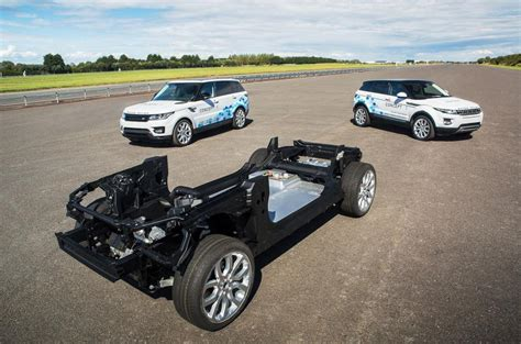 jaguar range of cars range rover evoque concepts show electric tech autocar