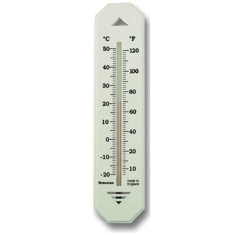 Www Termometer 150mm white budget wall thermometer 14 436 3 brannan