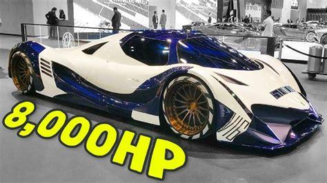 Highest Horsepower Car In The World top 10 high horsepower cars